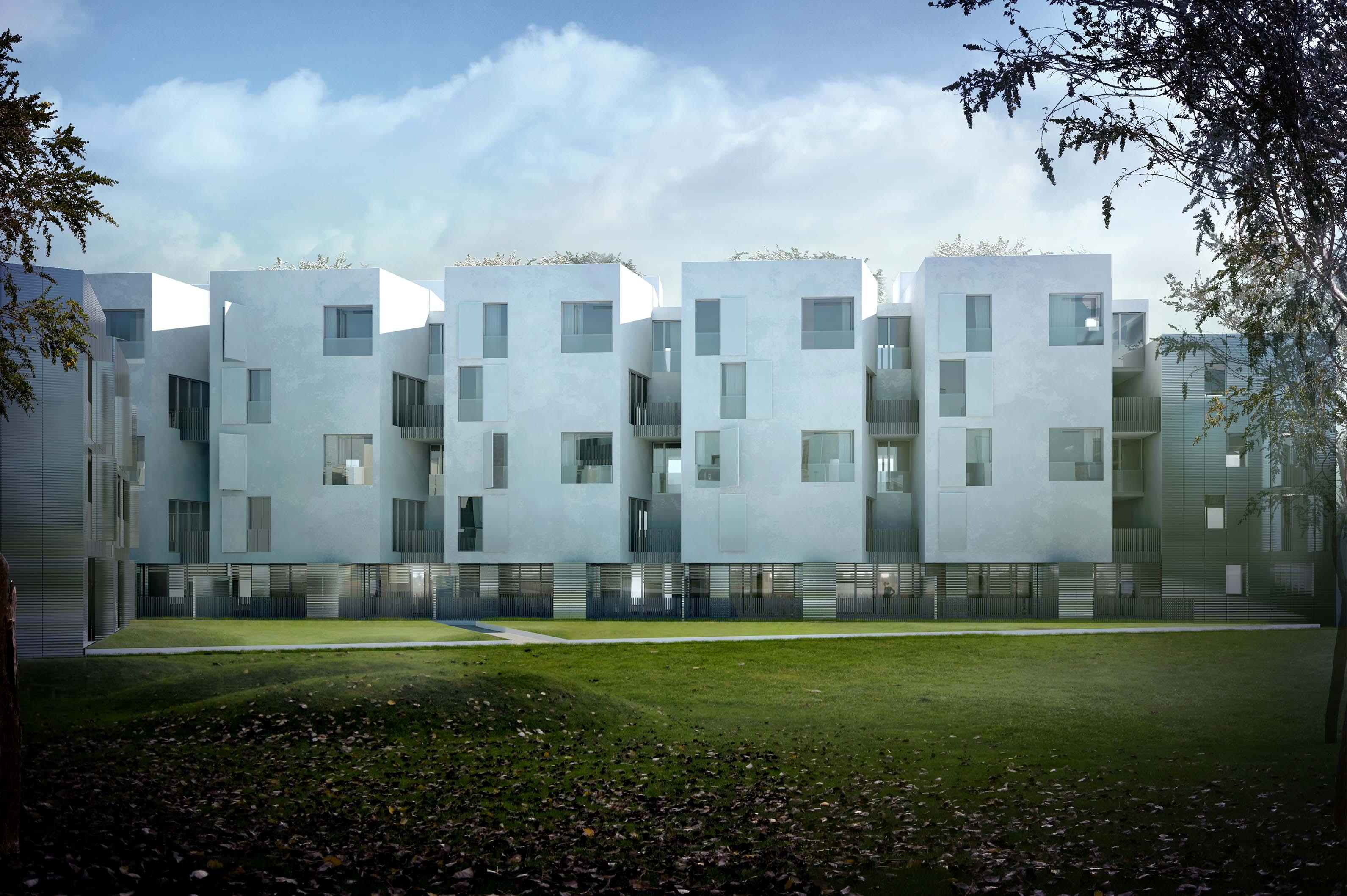 Cab ren immeuble de logements for Arch immobilier rennes