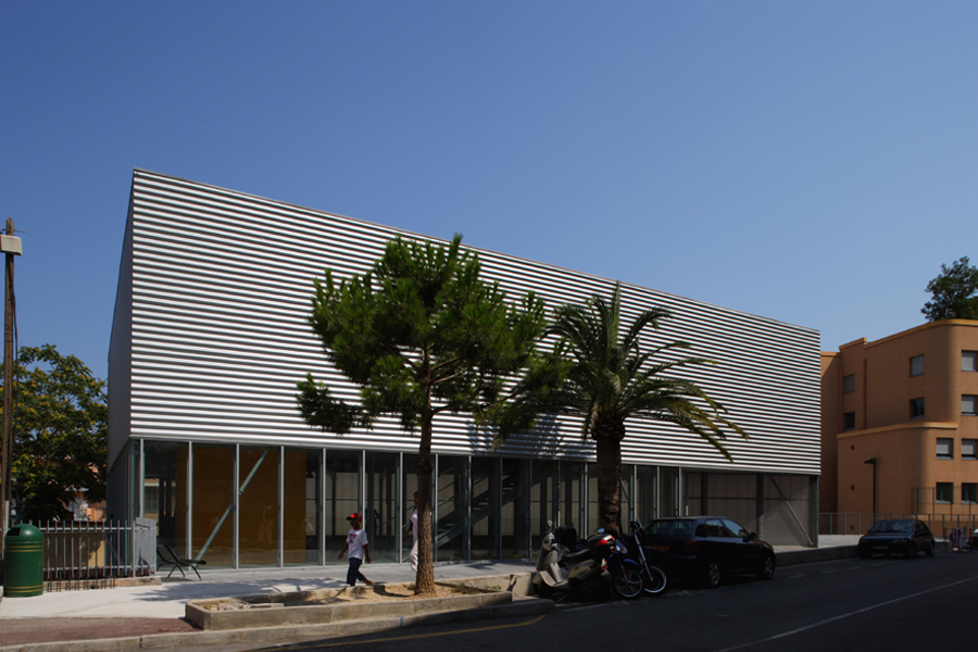 CAB-MON-Complexe sportif des Moneghetti à Beausoleil - 2006