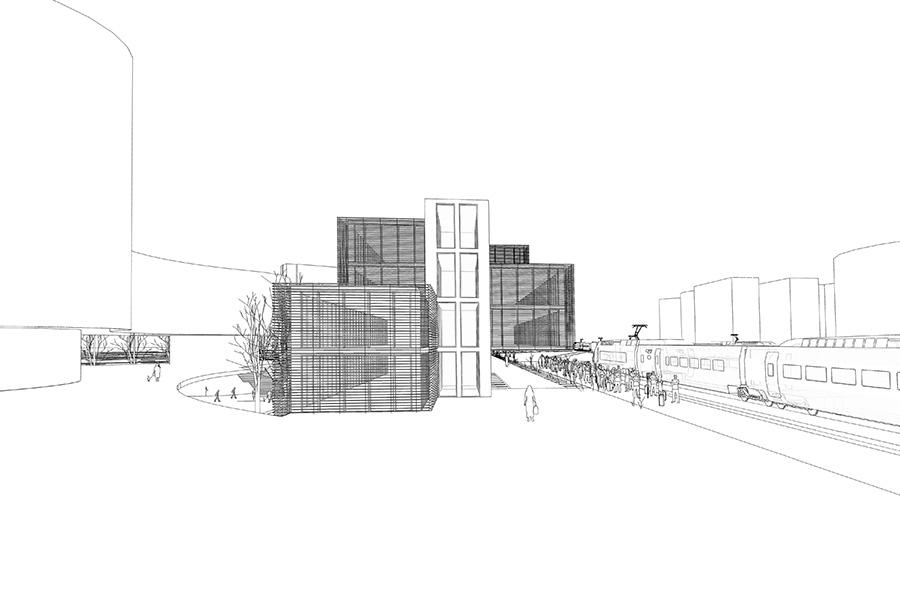 CAB-ARE-Bureaux Grand Arenas - 2013