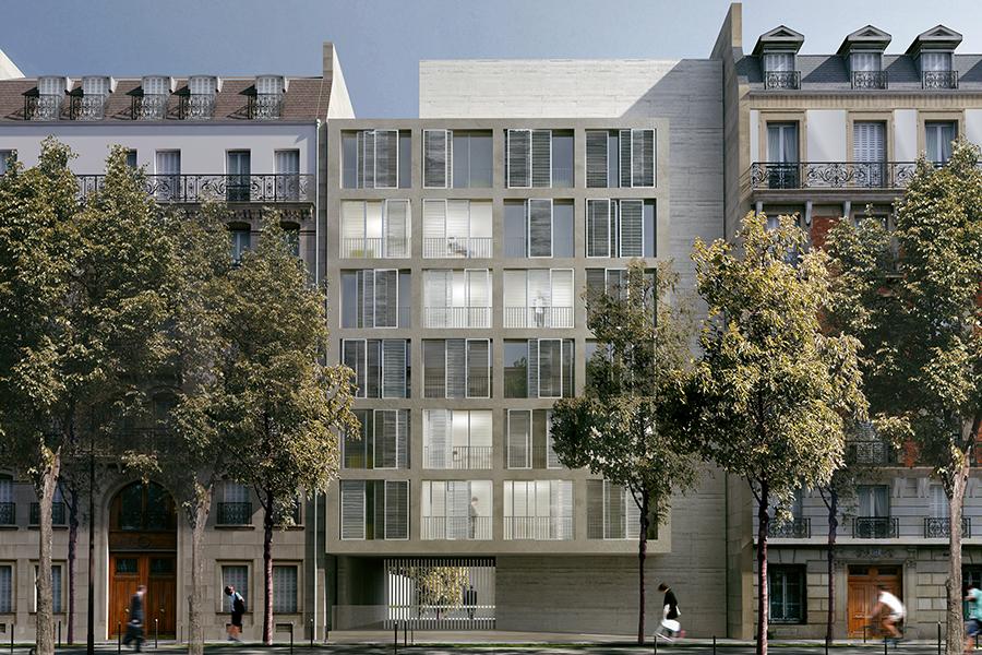CAB-ROP- Résidence étudiante et Maison Relais à Paris -2013
