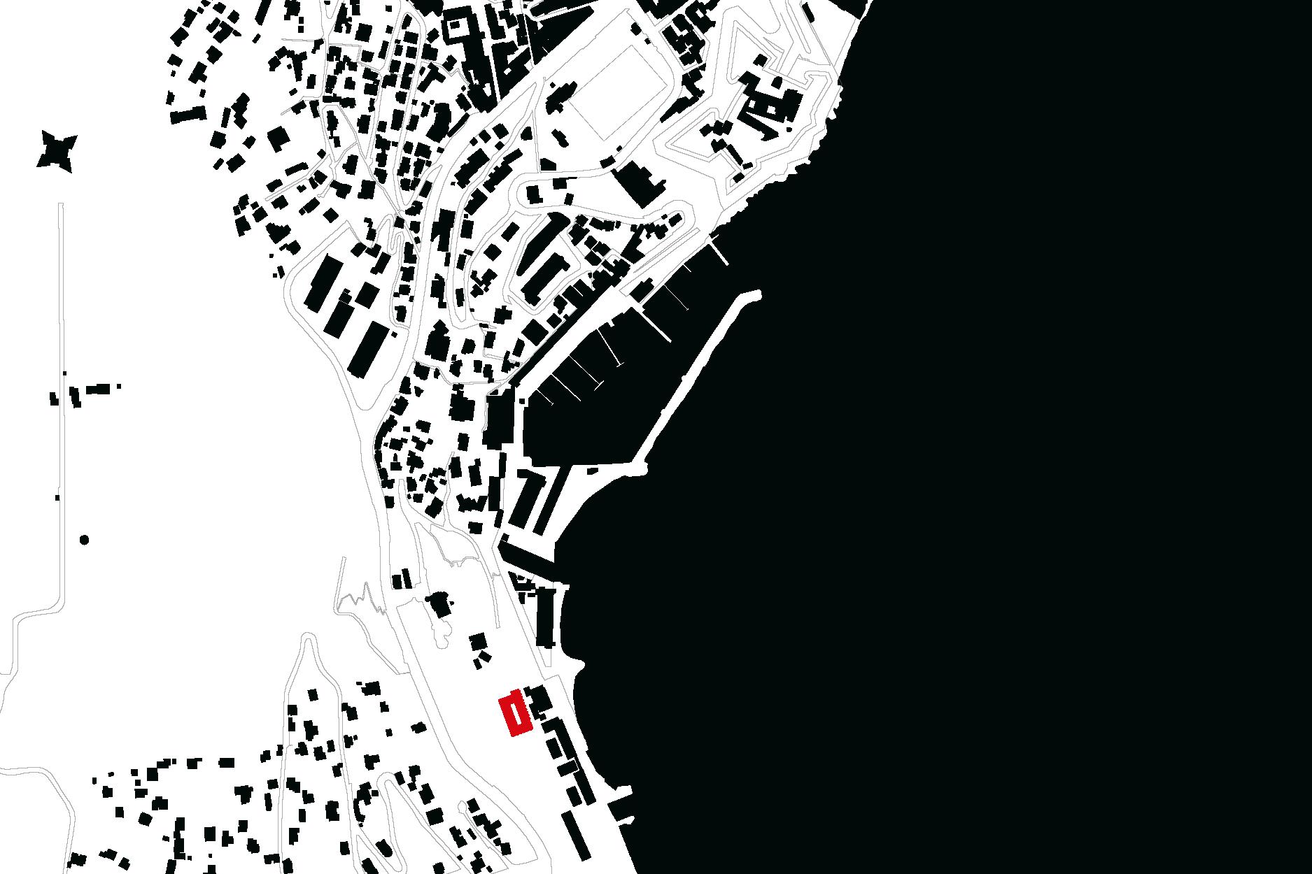 CAB-OBS-Centre d'Hebergement de l'Observatoire de Villefranche-Plan de localisation