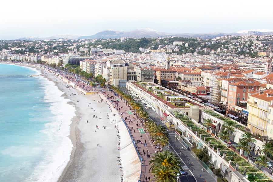CAB-PON- Réaménagement des terrasses des Ponchettes à Nice