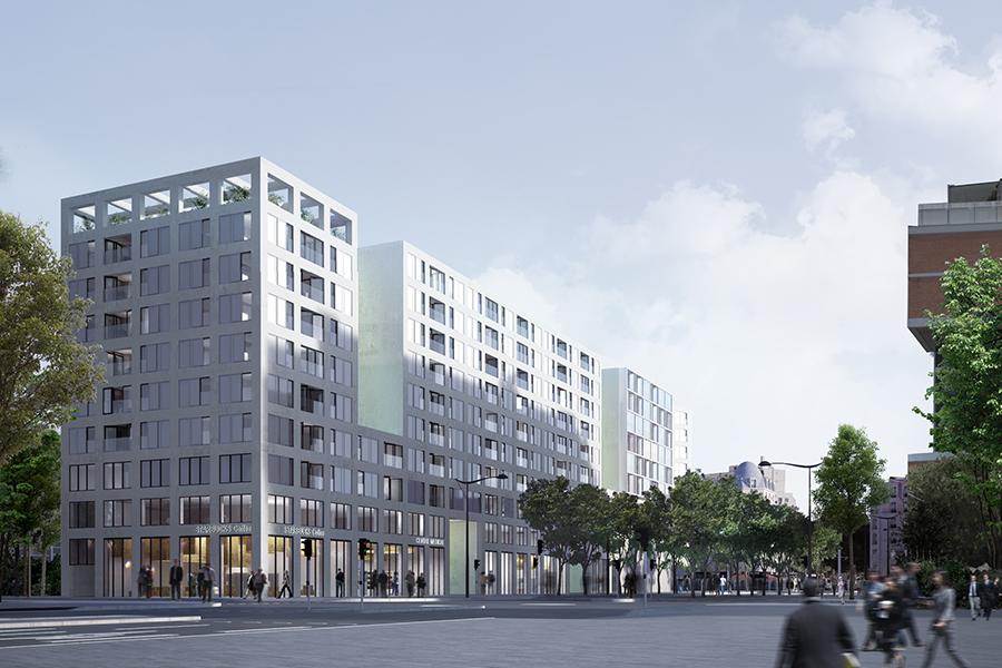 CAB ARCHITECTES - Batignolles Lot N1 - 2014