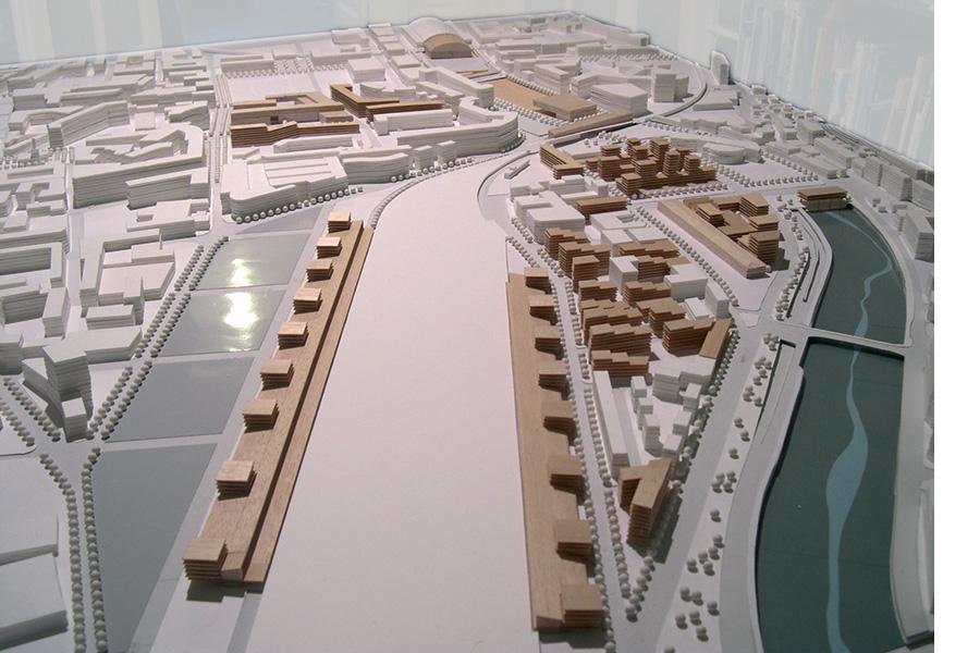 CAB ARCHITECTES-EST-Quartiers Nice Est - 2007