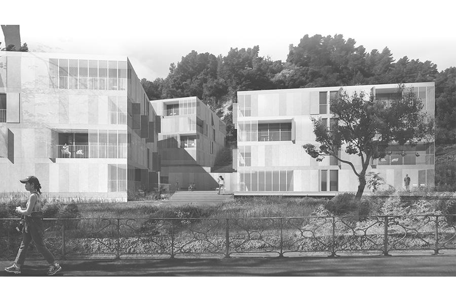 CAB-MAD-Logements sociaux boulevard de la Madeleine à Nice -2011