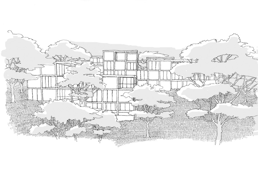 CAB ARCHITECTES - Logements à Giens - 2014