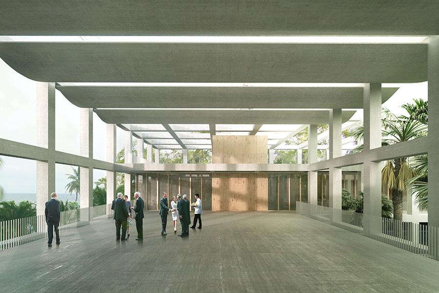 CAB ARCHITECTES - AMBASSADE DE FRANCE AU GABON - 2014