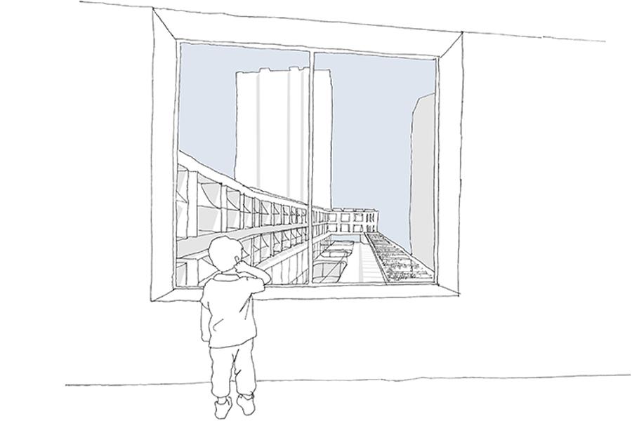 CAB ARCHITECTES - Groupe scolaire Chapelle International - 2015