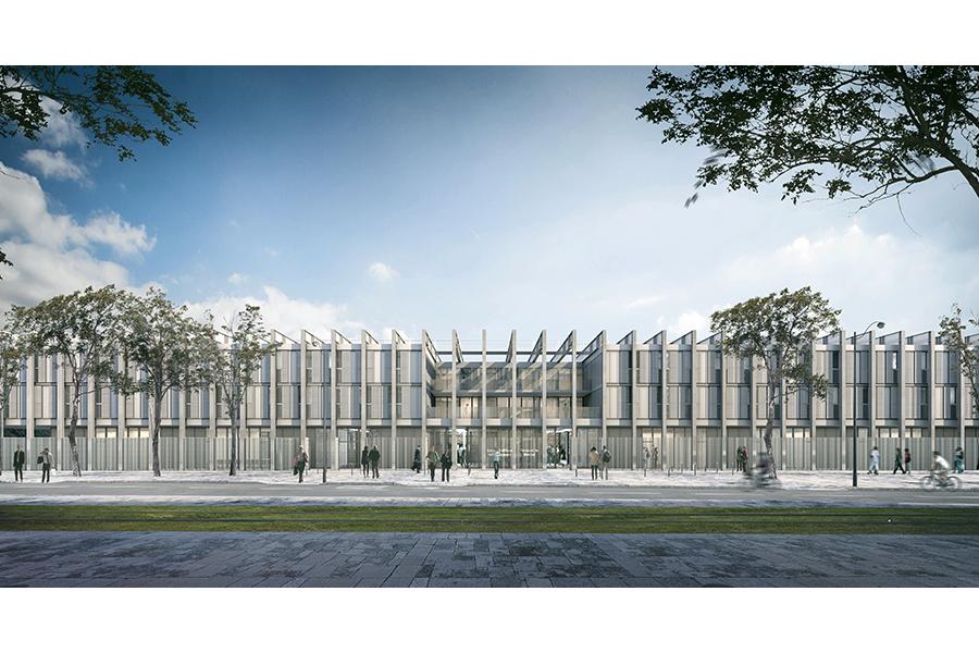 CAB ARCHITECTES - Internat du Lycée Honoré de Balzac à Paris - 2019