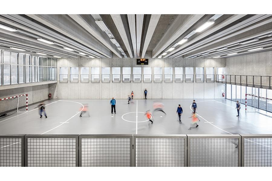 CAB ARCHITECTES - ARI - Gymnase Futsal de l'Ariane-2016