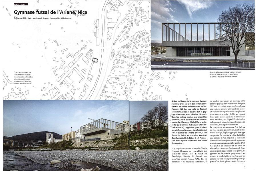 CAB ARCHITECTES - D'A n°244-MAI 2016
