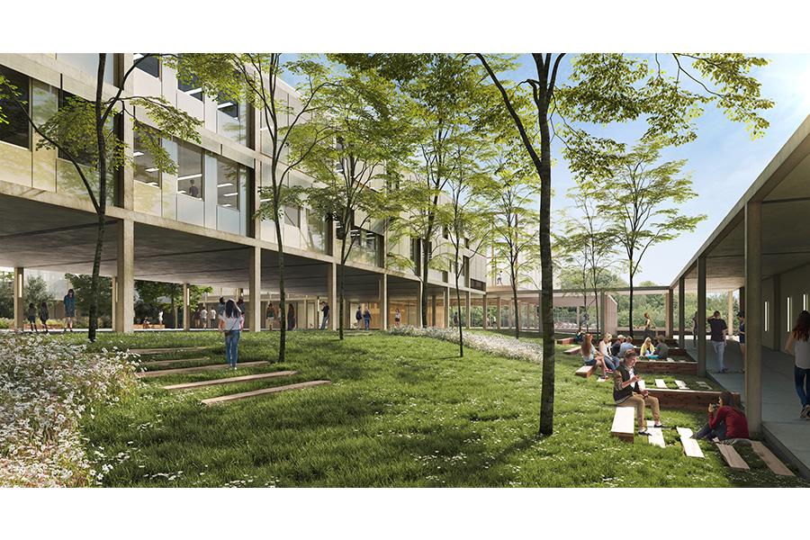 CAB ARCHITECTES - Lycée Cugnot à Neuilly-sur-Marne